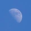 青空にお月様
