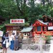 傘寿を家族が祝ってくれる・嵯峨の野宮神社にお参り