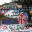 知らなかった。。。Clarionストリートの壁アート サンフランシスコ