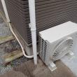エアコン室外機の移動工事