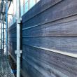 ラフソーンの雨板、付加断熱、全開口サッシ、