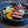🍴前沢牛ステーキに 舌鼓(ღˇ◡ˇ)♡