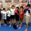 2017.9.20 少年部キッククラス、今日の練習
