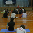 伊勢市立港中学校、PTA家庭教育部様と姿勢改善ストレッチ教室☆