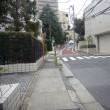 中目黒から恵比寿 渋谷川沿いの坂を歩く