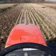 農研、ハウスで定植・秋冬野菜の収穫・トラクターで耕起・ハクサイ浸け作り