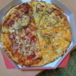 ナン&カレー&ピザの晩御飯