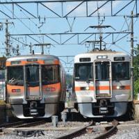 9月9日撮影 その4 「飯田線リレー号」回送