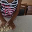 子供達とナン作り&卵不使用のオヤツ