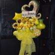 川越市 ライブハウス お誕生日のスタンド花