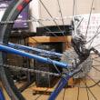 クロモリロードバイクの再塗装について