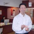 米山新潟県知事が骨髄バンクに登録しました