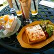 『ジェリカフェ』でフルーツサンド&ハニーチーズトースト