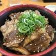 静岡 藤枝のごはんどきでカルビ丼