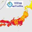 内陸で40℃近い暑さか岡山37℃、東京都心36℃予想熱中症に警戒