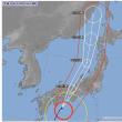 台風21号列島横断 ; 今年一番の大型台風