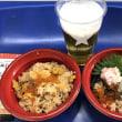 街をぶらり ふるさと祭り東京 で 丼二つ