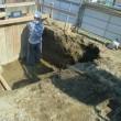 静岡市清水区 3階建重量鉄骨造住宅 着工しました。