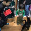 黒猫ジジィがピアノの上にあがるタイミングは