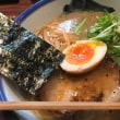 AFURIの柚子塩ラーメンと七志の麻辣担々麺