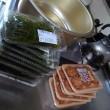 切り昆布と紅生姜揚げ