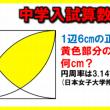 【中学入試算数】全2問!ひらめき算数問題!