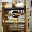 今日も遠州木綿の糸造り