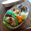 お弁当(豆腐&キャベツの豚バーグ・お好みソース)
