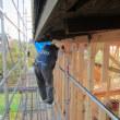 第三者の目で、施工内容の検査を行っています・・・エコ住宅新築