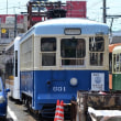長崎電気軌道 浦上車庫(2018.8.12) 601 旧熊本市電170形