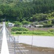SLと吊り橋