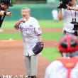 【韓国】慰安婦が始球式wwwwwwwwwwwwwwwwww