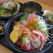魚八庭(王寺駅南口)の「特上海鮮丼」!
