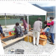 吉野川で同窓会