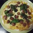 ピザにハーブを乗せるタイミング