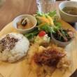 「綴café つづりカフェ」、東北大学片平キャンパス近くで、野菜たっぷりランチプレート