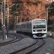 鉄道写真 外房線土気-誉田(2019/1/14)