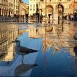 逆さまの風景@ベネチア