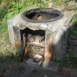 大人の工作 やっと台風後の修理 釜戸作り検討