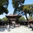 明治神宮の本殿屋根の銅板葺きで大相撲の行く末に思いを巡らしたり