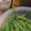 今年初めての枝豆(^o^)