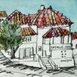 1619.カステロ・ノーヴォの町角