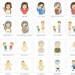家族のイラスト無料素材集