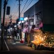 【Dec_07】江刺町、夕景。