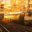 2017年11月21日  山手貨物線 駒込  EF64-1030+E235系トウ12編成10両 新津配給 9772レ 夕方