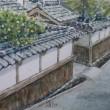 絵「萩武家屋敷通り」(リカバリー)