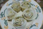 薔薇餃子作りました。