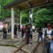 大井川鉄道へのキャンプ