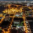 南港コスモタワーからの夜景
