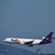FedEx. ゴーアラウンド  発生‼️ MD-11  フルパワーで上昇し淡路島方面へ飛び去る。チョットしたハプニング❗️
